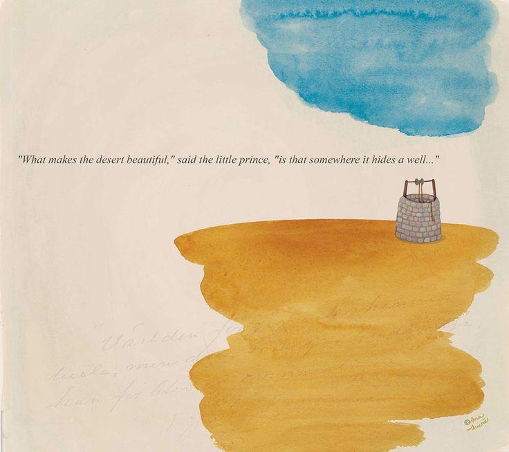 Ana Sucré : Le Petit Prince (storybook) on Behance