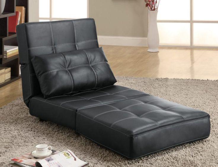 Einzel Sofa Bett Stuhl Sofa, Schwarzes sofa, Sofastuhl