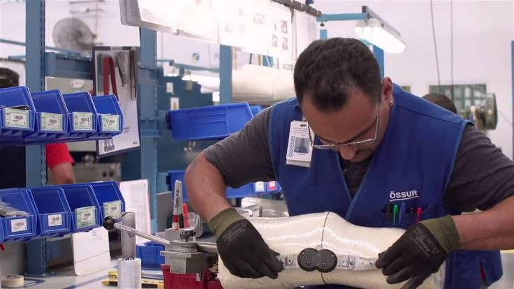 Ossur Custom CTI Knee Brace - How It's Made - DME-Direct.com