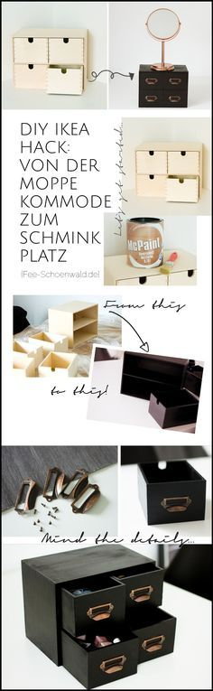 die besten 25 schminktisch organisation ideen auf. Black Bedroom Furniture Sets. Home Design Ideas