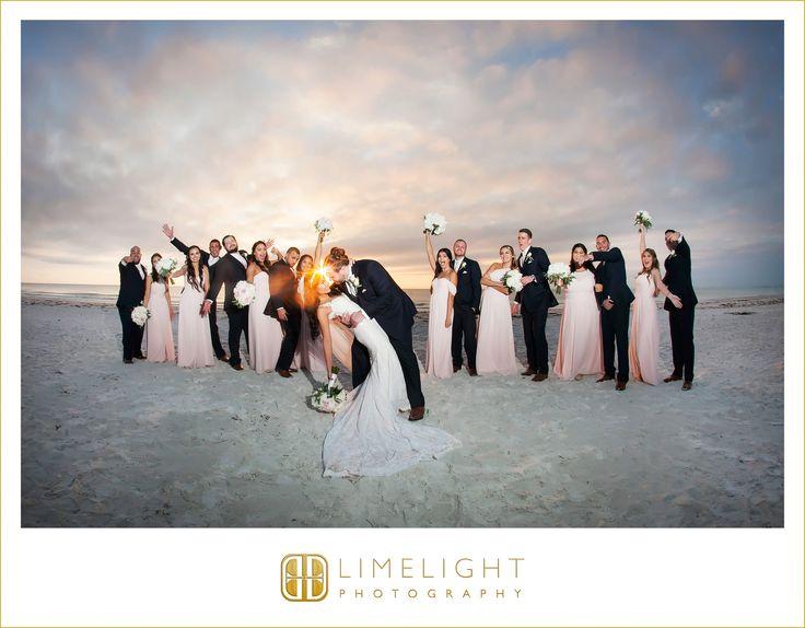 #wedding #photography #weddingphotography #DonCeSar #StPetersburg #Florida #stepintothelimelight #limelightphotography #weddingday #bride #groom #mr #mrs #newlyweds #dress #ivory #bouquet #blush #peonies #roses #veil #navy #beach #beachwedding #beachpictures #bridalparty #groomsmen #bridesmaids #fun #funny #kiss #dip #sunset