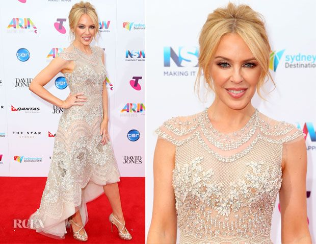 Kylie Minogue attended the 2015 ARIA Awards held at The Star today (November 26) in Sydney, Australia.