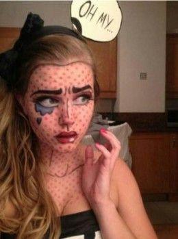 Pop Art | Diy Halloween Costume Ideas
