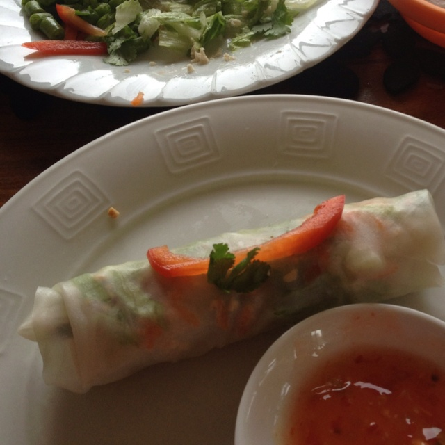 Rice paper roll