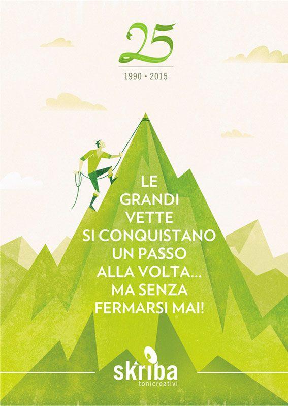 #Illustrazione realizzata per l'opuscolo del Club Alpino Italiano sezione di San Donà di Piave - #illustrazione di @Tommaso Vidus Rosin #graphicdesigner #artwork #vector #illustration #montain