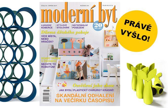 Časopis Moderní byt je na stáncích!