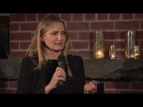 Cameron Diaz tells Bob Roth @LynchFoundation how #TranscendentalMeditation has helped her | The Uncarved Blog