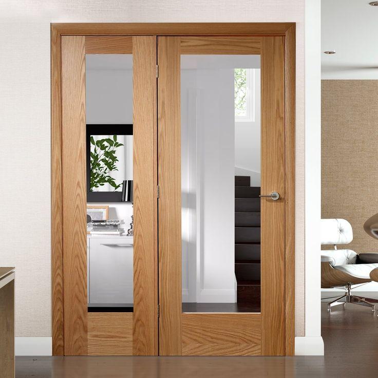 Easi Frame Oak Door Set, GOSHAP10 COEOP32L, 2005mm Height, 1432mm Wide
