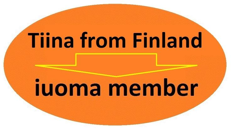 IUOMA 30 years sticker by Ruud Janssen http://www.tiinafromfinland.com/mail-art/iuoma-30-sticker/ #mailart #IUOMA