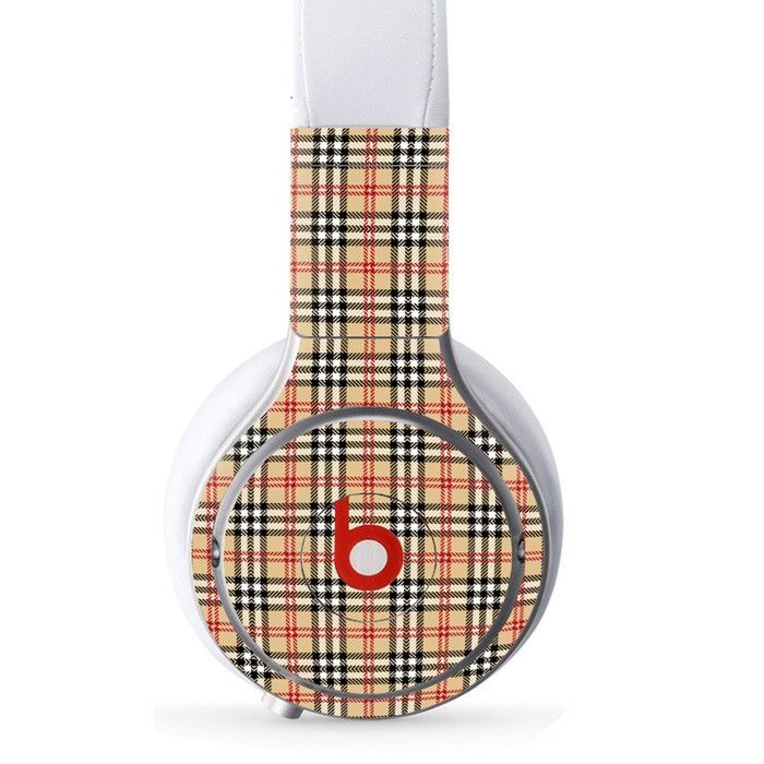 Clothe Pattern decal for Monster Beats Pro wireless headphones