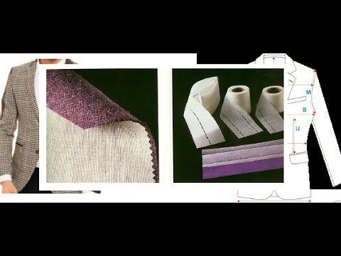 Modelistlik, Elde kalıp, Erkek ceketi tela kalıbı, Ders / 63
