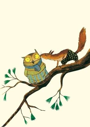Eichhörnchen, Postkarten