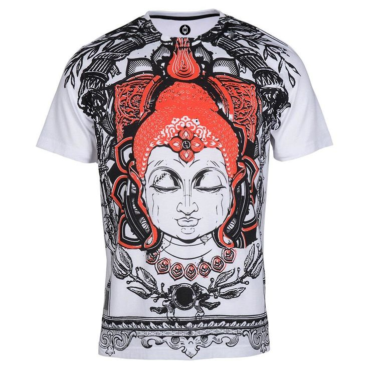 Buy Buddha Printed T Shirts online  | Men's T shirt online | 10% Off | Shop now @ www.huetrap.com