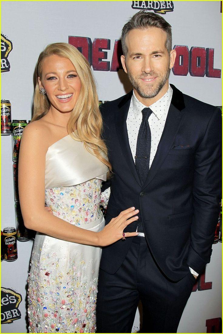 Ryan Reynolds & Blake Lively Couple Up at 'Deadpool' Screening