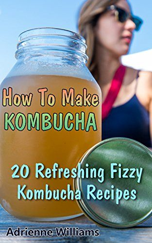 How To Make Kombucha: 20 Refreshing Fizzy Kombucha Recipes: (Kombucha 101…