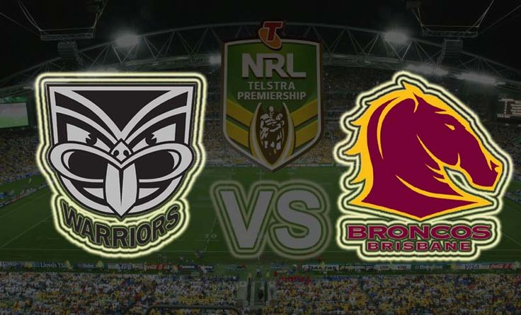 New Zealand Warriors vs Brisbane Broncos