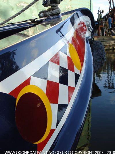 narrowboat paint designs