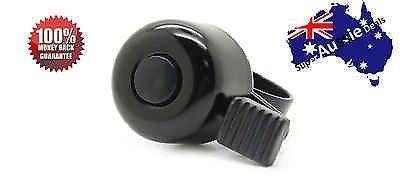 Bike Bicycle Cycling Metal Ring Handlebar Bell Sound Alarm Black