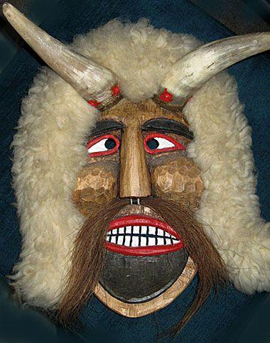 European Buso Croation mask - Hungary Folk Mask