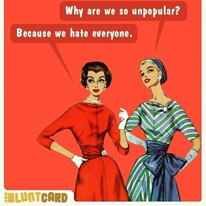 The older I get the more I realize how much I hate people... Happy Friday..