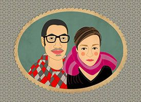 Etsy Portrait Artists Talk Shop on Etsy I am really excited to be featured in this interview! Little Paper Clouds, Paper dolls by Amanda Burnett