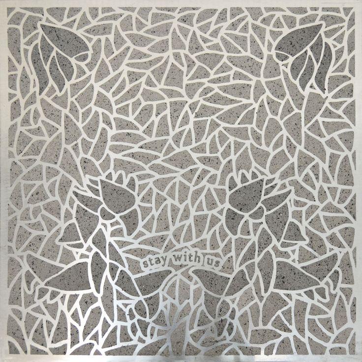 Maria Tsagkari, Planning a Garden, Birds of Paradise, Ash on aluminium