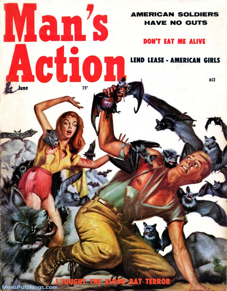 451 Best Men S Pulp Adventure Magazines Amp Books Images On