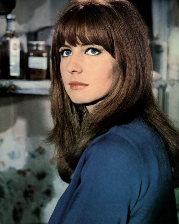 Jane Asher....LOVE her hair. And this is way before good hair products!