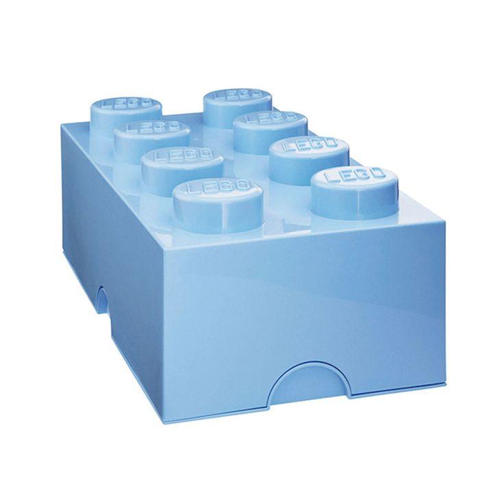 Boîte en plastique de différentes couleurs, 50 cm, très utile pour conserver les aliments en général. Même pour les produits hautement fonctionnels, comme celui-ci, la conception, les matériaux et la forme sont importants pour donner une touche d'originalité au travail acharné de l'exploitation. Grâce à sa fermeture l'ordre est garantie. Les conteneurs Lego peuvent être empilés comme la construction de brique classique. Sans BPA et PVC. Regardez en ligne les autres éléments de la…