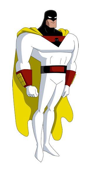 Space Ghost, DCAU/Timmverse style....SPAAAACE GHOOOOST!