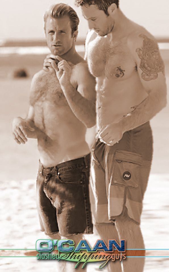 Summer Date... Love is on the air.  Alex O'Loughlin & Scott Caan