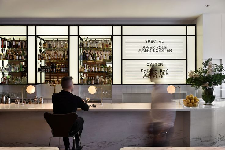 Project Luke's Oyster Bar & Chophouse -  Design Practice Hassell www.hassellstudio.com  Photography E.K.Yap Gallery | Australian Interior Design Awards