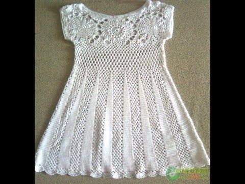 Crochet dress| Free |Crochet Patterns|356