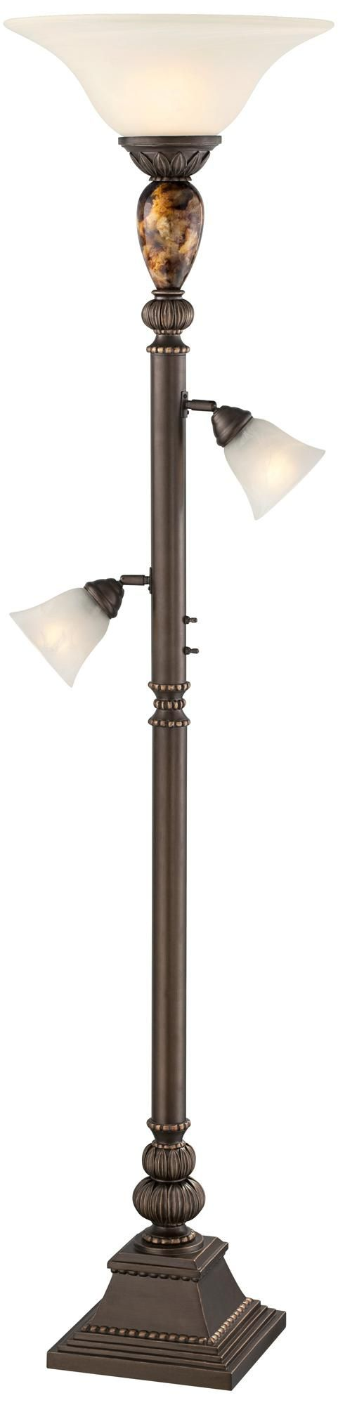 Mermaid floor lamp - Kathy Ireland Mulholland Tree Torchiere Floor Lamp