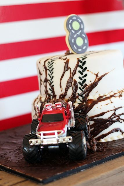 Best 10 Truck Birthday Cakes Ideas On Pinterest Monster