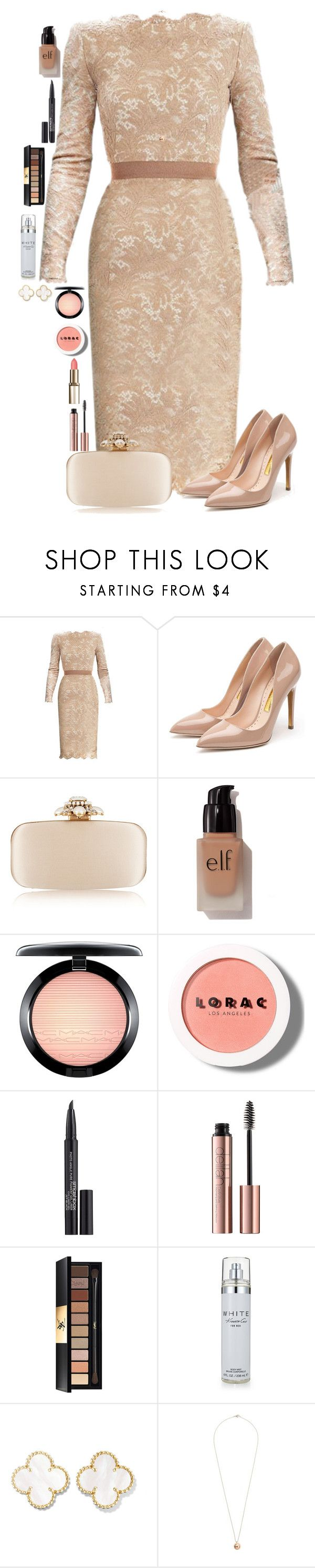 """Miradas"" by macapaz ❤ liked on Polyvore featuring Rupert Sanderson, Oscar de la Renta, e.l.f., MAC Cosmetics, LORAC, Smashbox, Yves Saint Laurent, Kenneth Cole and Dorothy Perkins"