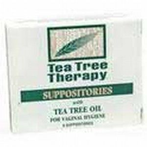 Tea Tree Suppositories - 6 Suppositories by Tea Tree Therapy. Save 8 Off!. $10.95. Tea Tree Therapy Suppositories are designed to provide relief from rectal and vaginal pruritis (itching) and soothe inflamed anal mucosa to contain the spread of rectal and vaginal infection.. For Vaginal Hygiene. Tea Tree Therapy Suppositories are designed to provide relief from rectal and vaginal pruritis (itching) and soothe inflamed anal mucosa to contain the spread of rectal and vaginal infection.