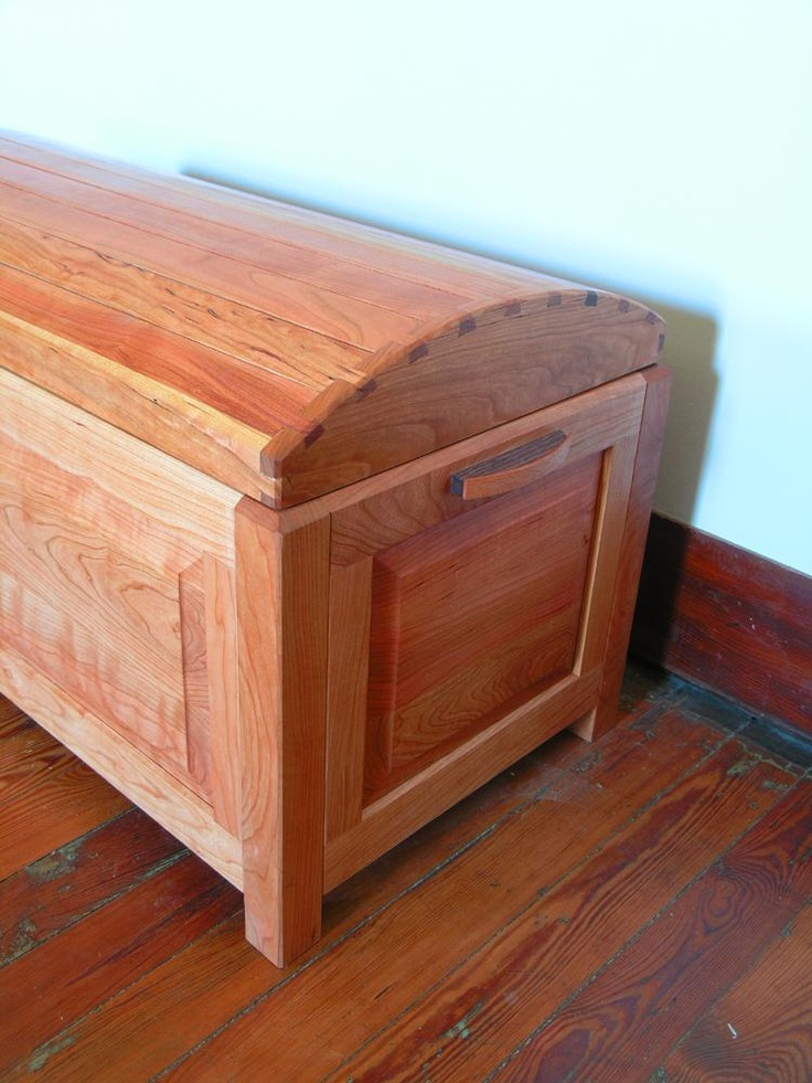 Free mission style blanket chest plans woodworking for Blanket chest designs