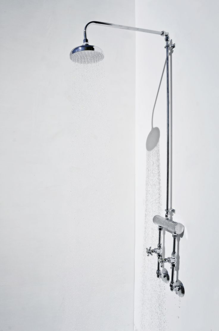 indoor twin supply hand made shower in polished chrome with 150 mm rainmaker shower rose. supplied standard or customised to suit your needs.