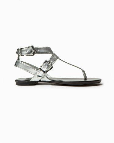 Silver sandals | shoes | Pinterest