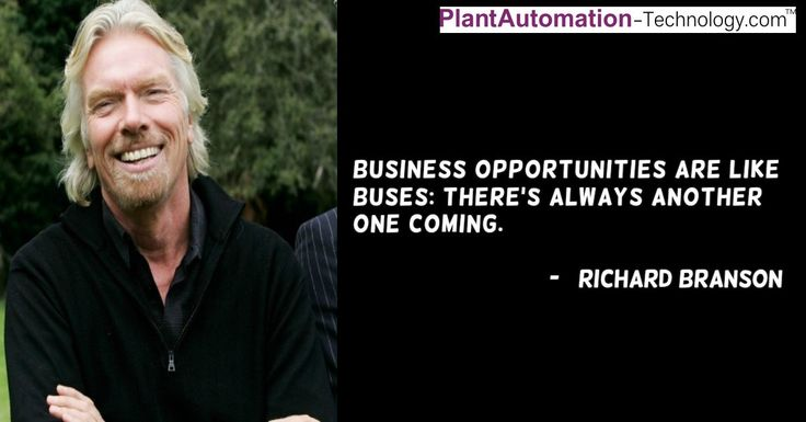 #Business opportunities are like busses: there's always another one coming. – @richardbranson   #WednesdayWisdom #WednesdayMotivation