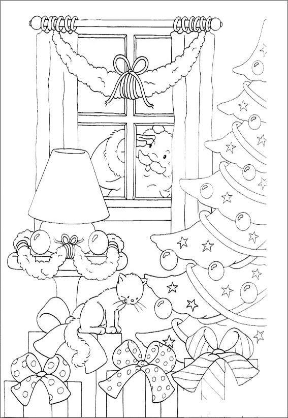 Ausmalbilder-Weihnachten-4 - Pinterest Ausmalbilder