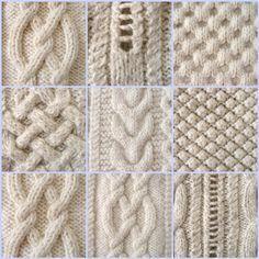 comment tricoter le point irlandais                                                                                                                                                      Plus