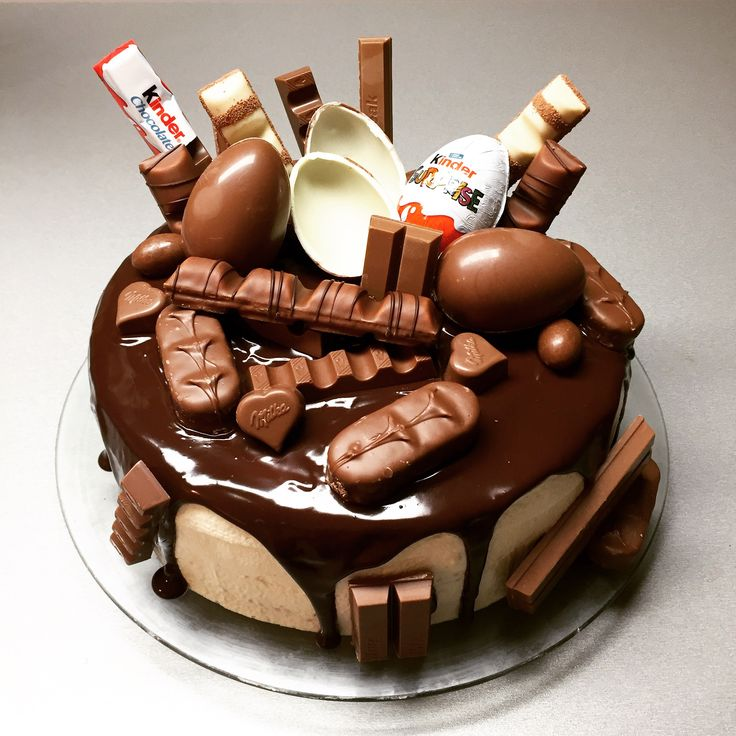 Kinder chocolate cake