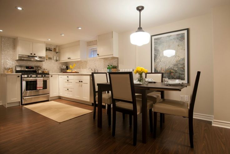 Basement kitchen and dining area, Income Property, HGTV