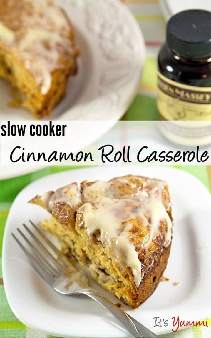 25+ Breakfast Crock Pot Recipes ~ Everything from cinnamon rolls, breakfast casseroles, oatmeal and a whole bunch of other amazing things all made in your Crock Pot! ~ http://www.julieseatsandtreats.com