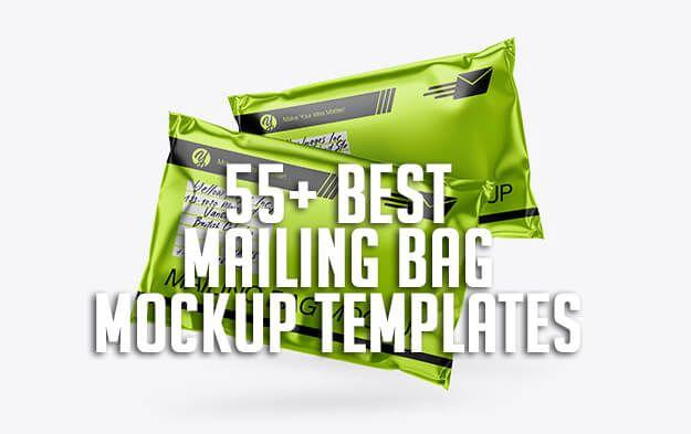 Download 55 Best Mailing Bag Mockup Templates Bag Mockup Mockup Templates Mockup Template Free