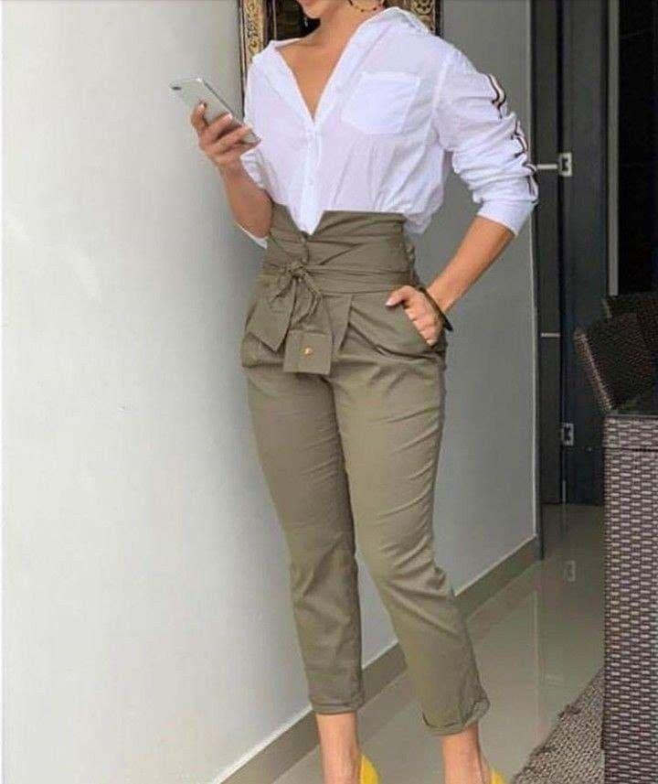 Moda Pantalones De Moda Mujer Pantalones De Moda Ropa De Moda Mujer