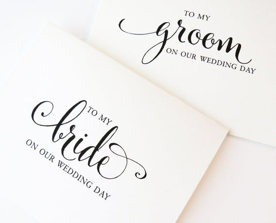 Wedding Day Card Grooms Card Husband To Be Groom Card To My Groom