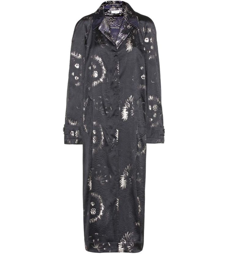 DRIES VAN NOTEN Jacquard coat. #driesvannoten #cloth #